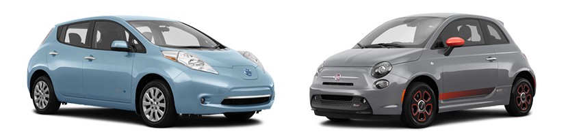 2017 Nissan Leaf Vs Fiat 500e In Buford Ga